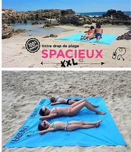 Serviette De Plage Xxl : le bon plan plage avec le drap de plage xxl sign baba ~ Teatrodelosmanantiales.com Idées de Décoration