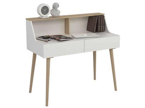 petit bureau conforama bureau 2 tiroirs scandy conforama