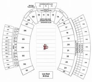 Stephen F Austin Football Stadium Seating Chart