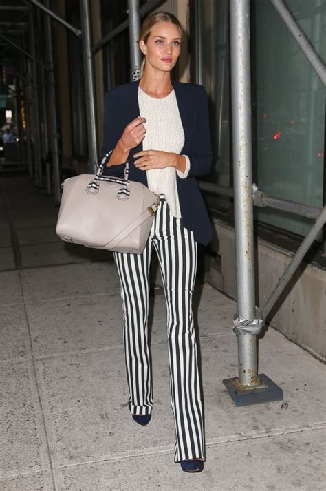 Rosie Huntington Whiteley Closet by Rosie Huntington Whiteley What To Wear With Striped
