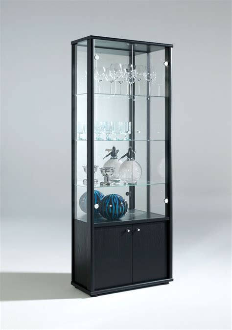 glass cabinets for living room living room neptune 1 or 2 door glass display cabinet with