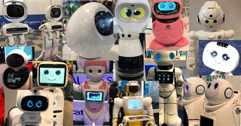 Home Robots Everywhere At #ces2018 In All Shapes, Sizes