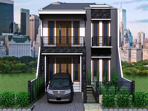 kumpulan gambar contoh desain rumah minimalis 2 lantai