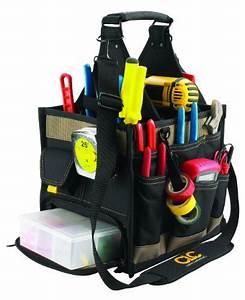 Custom Leathercraft 1528 23 Pocket Large Electrical And