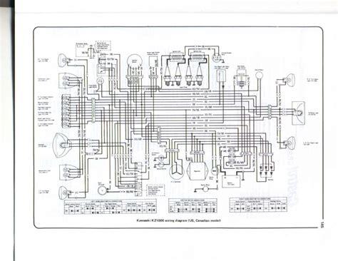 kawasaki z1000j wiring diagram issue kzrider forum kzrider kz z1 z motorcycle