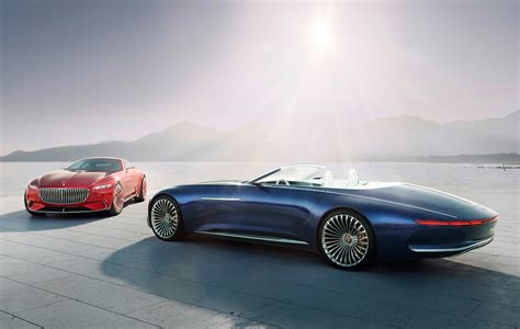 Vision Mercedes-maybach 6 Cabriolet Is 20 Feet Of Electric