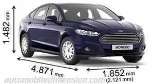 Volume Coffre Kuga : dimensions des voitures ford avec longueur largeur et hauteur ~ Medecine-chirurgie-esthetiques.com Avis de Voitures