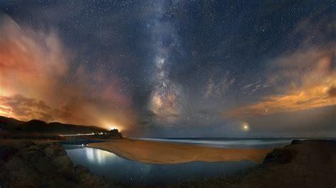 Milky Way Galaxy Wallpaper 1920x1080 Milchstraße Full Hd Wallpaper And Hintergrund 2560x1440 Id 677843