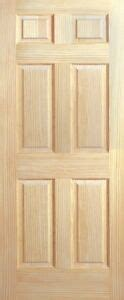 panel raised traditional clear pine stain grade solid core wood interior doors ebay