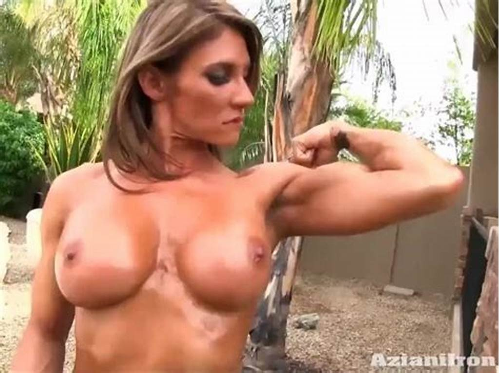 #2 #Sexy #Strong #Women #Flexing #Their #Naked #Bodies #For #You