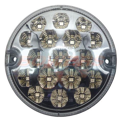 land rover defender nas style 95mm clear led stop l light upgrade 12v 24v h bowers