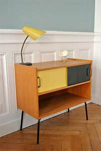 meuble d39appoint annees 50 solveig vintage kids With meubles des annees 50