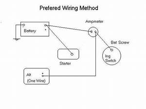 Corvette Alternator Wire Diagram 3