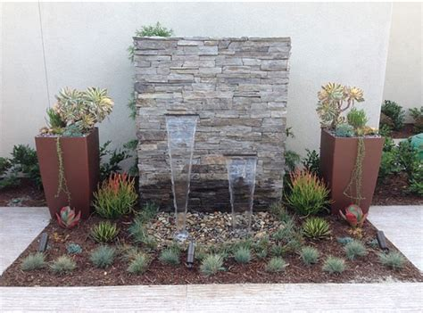 entry water feature front yard landscaping ideas to add instant curb appeal freshome com