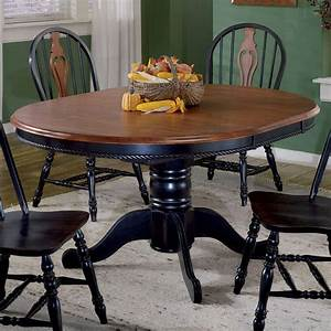 sunset, trading, 48, inch, round, dining, table, with, butterfly, leaf, -, walmart, com