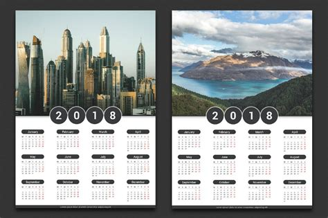 printable wall desk pocket calendar designs design trends