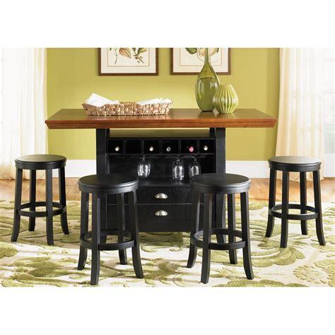 bar height kitchen table island liberty furniture harvard center island counter height 7592