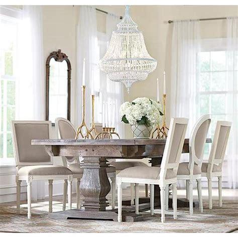 antique grey dining table home decorators collection aldridge antique grey