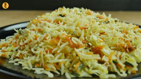 rice cuisine fried rice recipe by food fusion