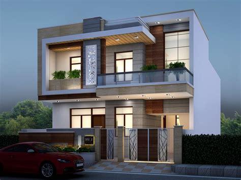 house elevation design  gharbanavocom hien dai