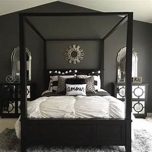 best 25 grey bedroom design ideas on pinterest With black white and silver bedroom ideas