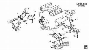 Chevrolet Camaro Engine  U0026 Transmission Mounting