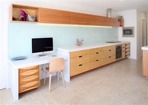 select custom joinery plywood kitchen  concrete