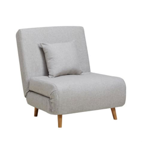 canapé convertible tissu gris fauteuil convertible 1 place chauffeuse et bz drawer
