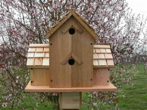 Cute Bird Houses Handmade From Wood