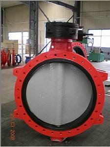 China Butterfly Valve  Wafer  Double Flange  Lug Type