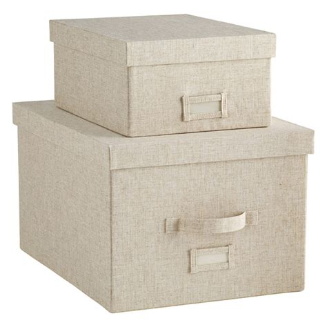 storage box linen storage linen storage boxes the container store