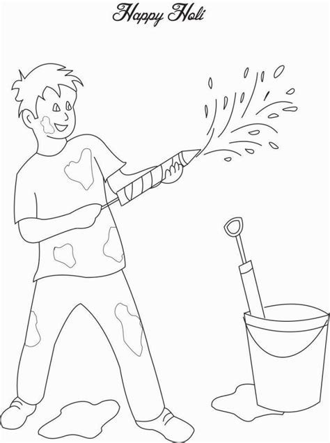 holi coloring pages coloring pages holi drawing holi