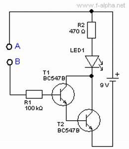 Darlington Schaltung Berechnen : f experiment 12 sensor schalter ~ Themetempest.com Abrechnung