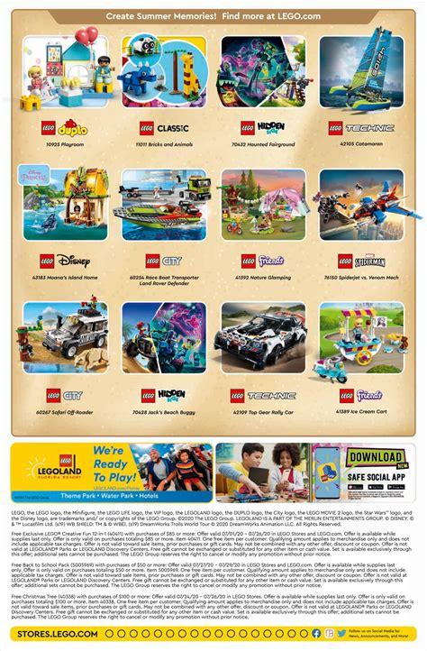 Lego July 2021 Calendar   Calendar 2021