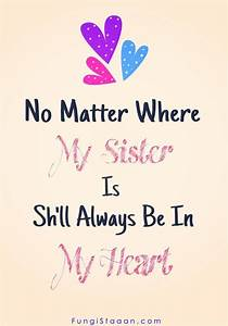 TOP 200+ Happy ... Cute Sister Bday Quotes