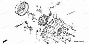 Honda Motorcycle 2003 Oem Parts Diagram For Alternator