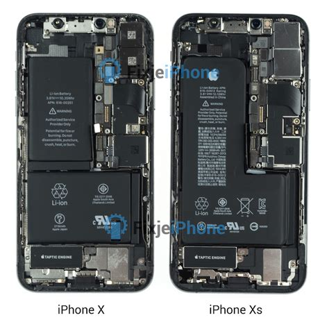 iphone xs teardown reveals new single cell l shaped