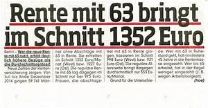 Rente Berechnen Mit 63 : rente mit 63 der oldy blogger ~ Themetempest.com Abrechnung