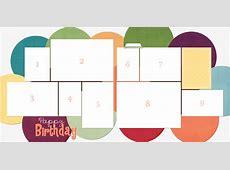 Birthday Layout Template cimvitation