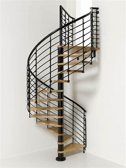 Spiral Staircase Wood Oak Stairs Build Tread