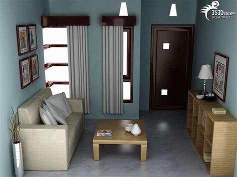 gambar desain interior dalam rumah minimalis type 36