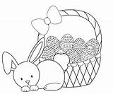 Easter Coloring Pages Bunny Crazy Projects Friends sketch template