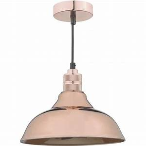 Bhs easy fit ceiling lights : Dar lighting urban easy fit ceiling fitting in copper