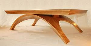 Table Basse Contemporaine ZEBRANO Atelier POURQUOI PAS