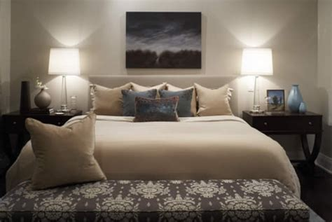 Beige And White Bedding-transitional-bedroom