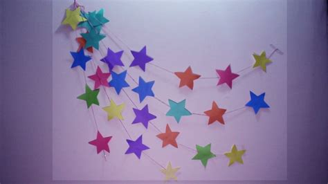 diy wall hanging craft ideas  colourful paper