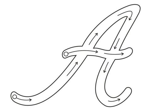 abecedario mayuscula cursiva 30 sellos jpg axsoriscom picture letra cursiva pinterest