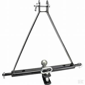 Triangle De Remorquage : 3 point linkage tow hitch compact tractor mounted towing ~ Melissatoandfro.com Idées de Décoration