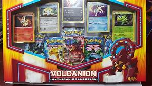 Volcanion Mythical Collection Box Pokemon Opening ...