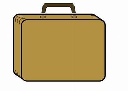 Briefcase Clipart Clip Suitcase Brief Cliparts Travel